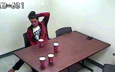 """Police video: Murdersuspectasks, """"Will anybody want to marry me?"""""""