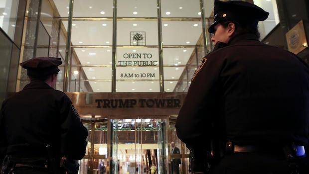 news suspicious powder found trump tower york