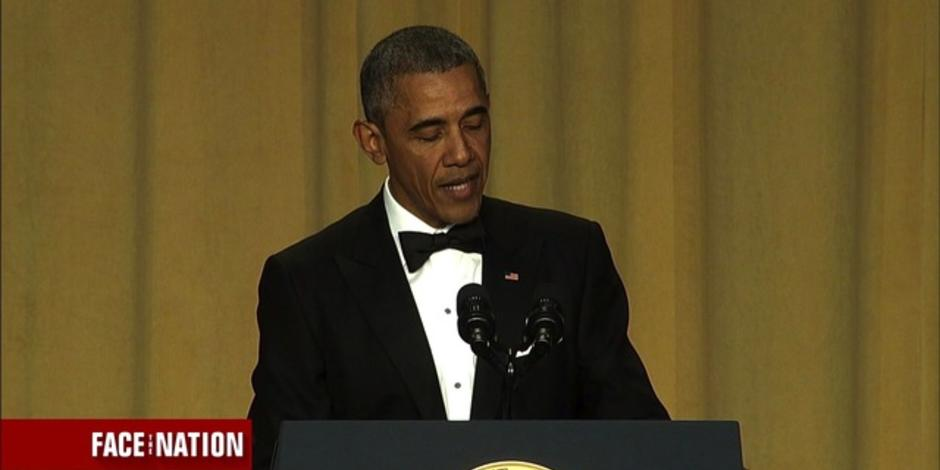 President Obamas best jokes from his final White House Correspondents Dinner