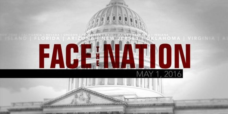 Open: This is Face the Nation, May 1