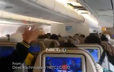 Heavy turbulence leaves passengers shaken