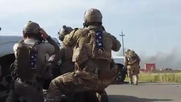 Video appears to show deadly IsIs battle that killed Navy SEAL