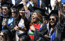 How can college graduates avoid falling behind on loans?