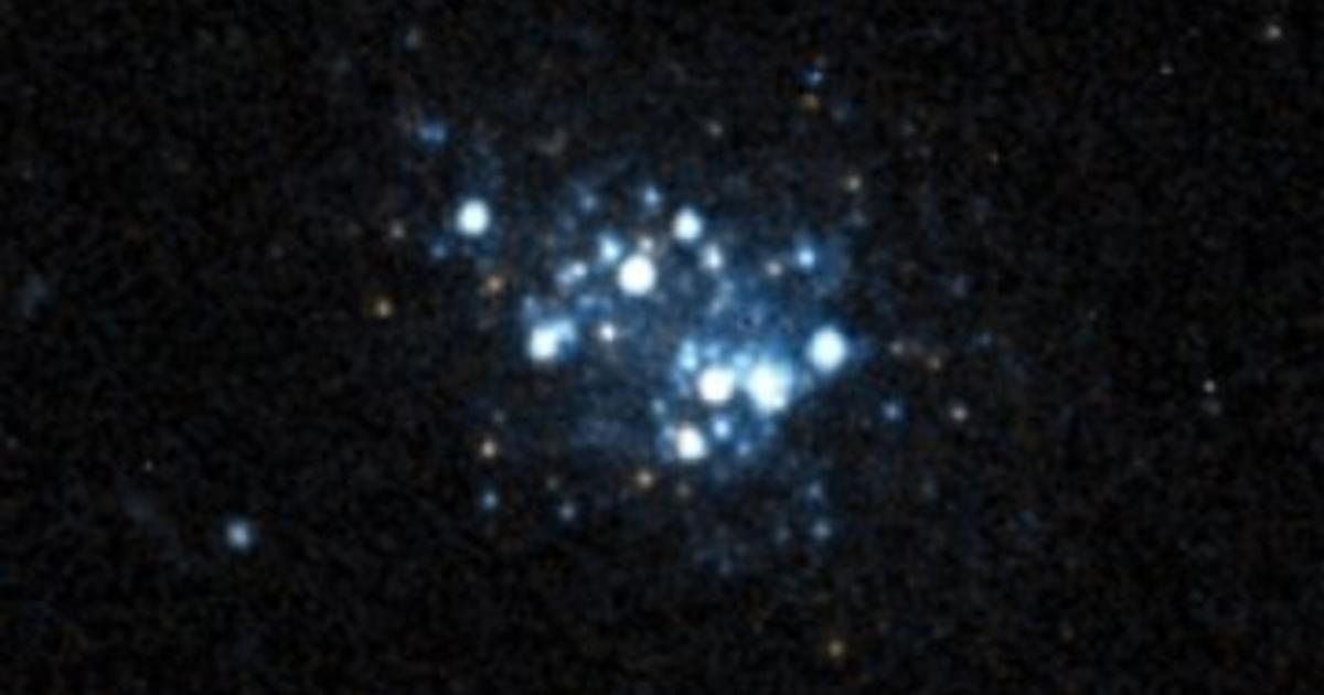 Small blue galaxy could reveal clues to the Big Bang - CBS News