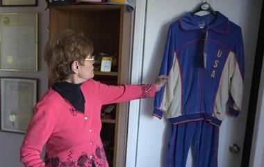 Mother shares memories of fallen Olympian