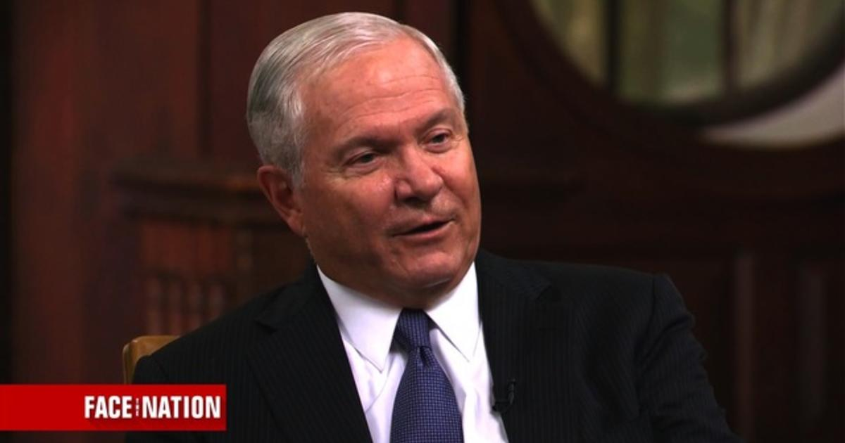 Robert Gates discusses global warming and long-term national security issues