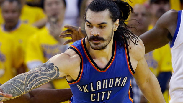 OKC's Adams Apologizes For Monkey Comments Related To Curry, Thompson