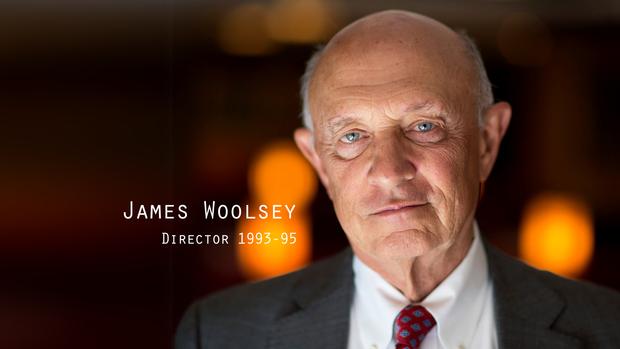 前中央情报局局长詹姆斯伍尔西