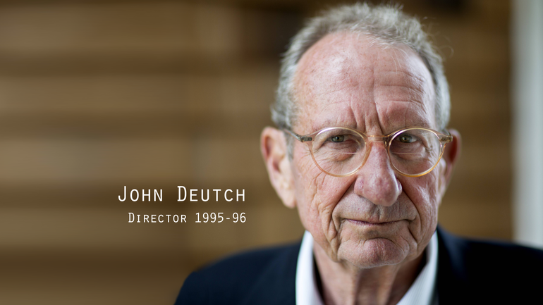 Former CIA Director John Deutch