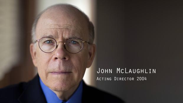 前中央情报局局长约翰麦克劳林