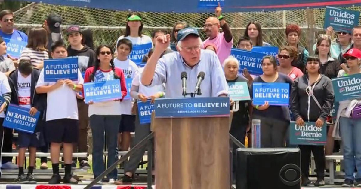 Bernie Sanders takes aim at DNC chair