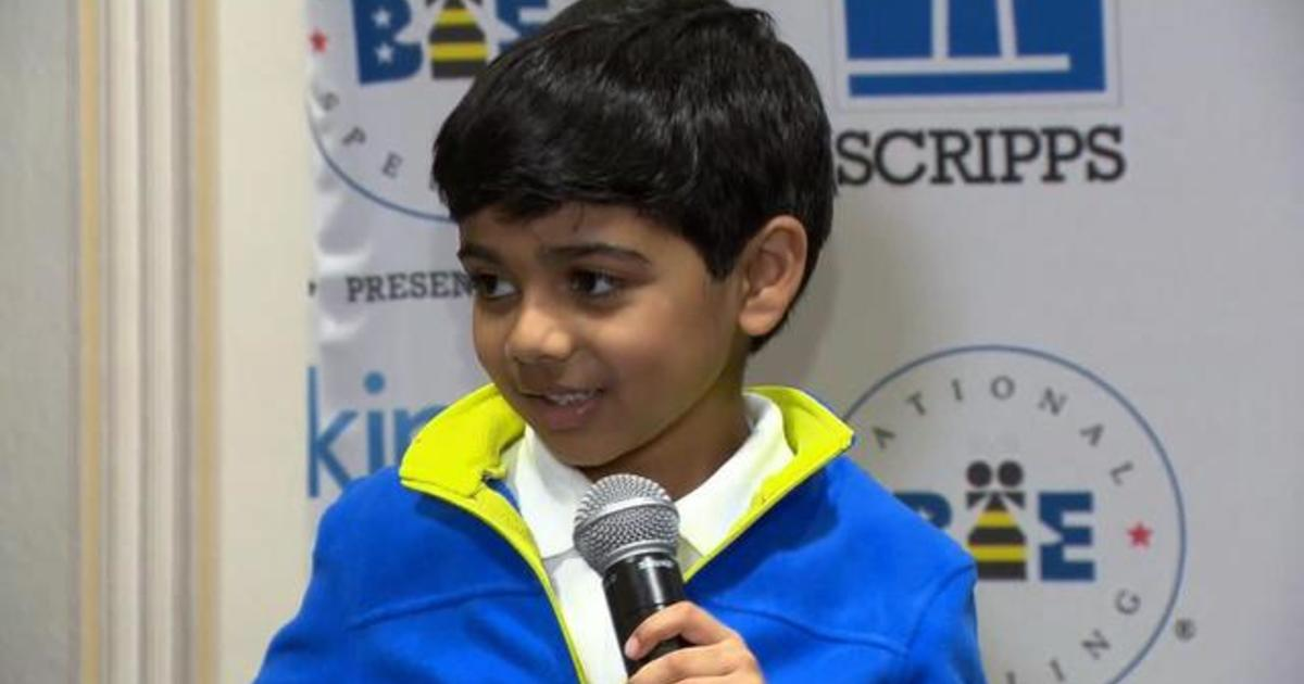 Six-year-old takes on the National Spelling Bee