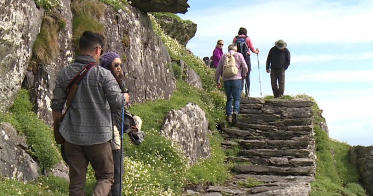 Tourists flock to remote island featured in Star Wars
