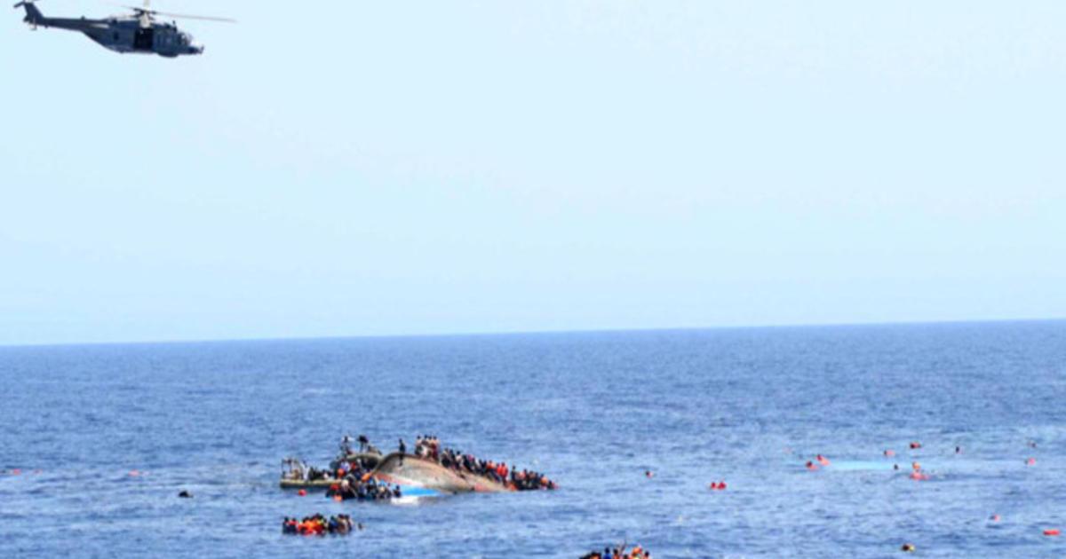 Boat capsizes, killing migrants off Libyan coast