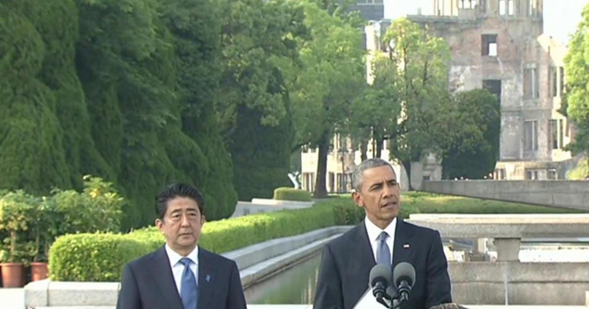 The impact of Obamas historic speech in Hiroshima