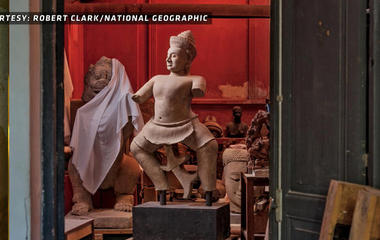 The booming illegal trade in antiquities