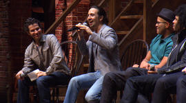 """Hamilton"" cast members answer students' questions"