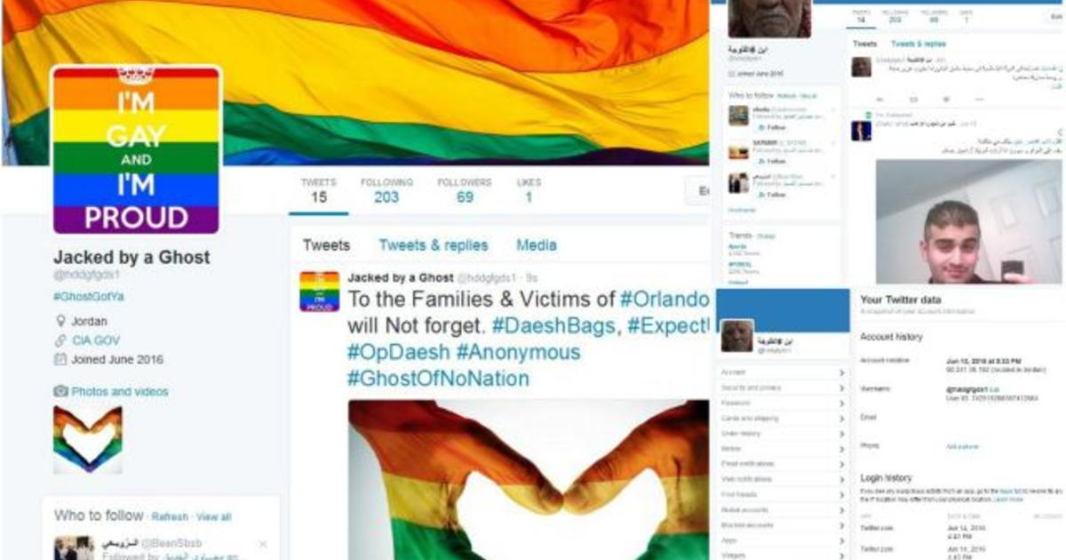 Anonymous hacks pro-ISIS Twitter accounts to fill them with gay pride