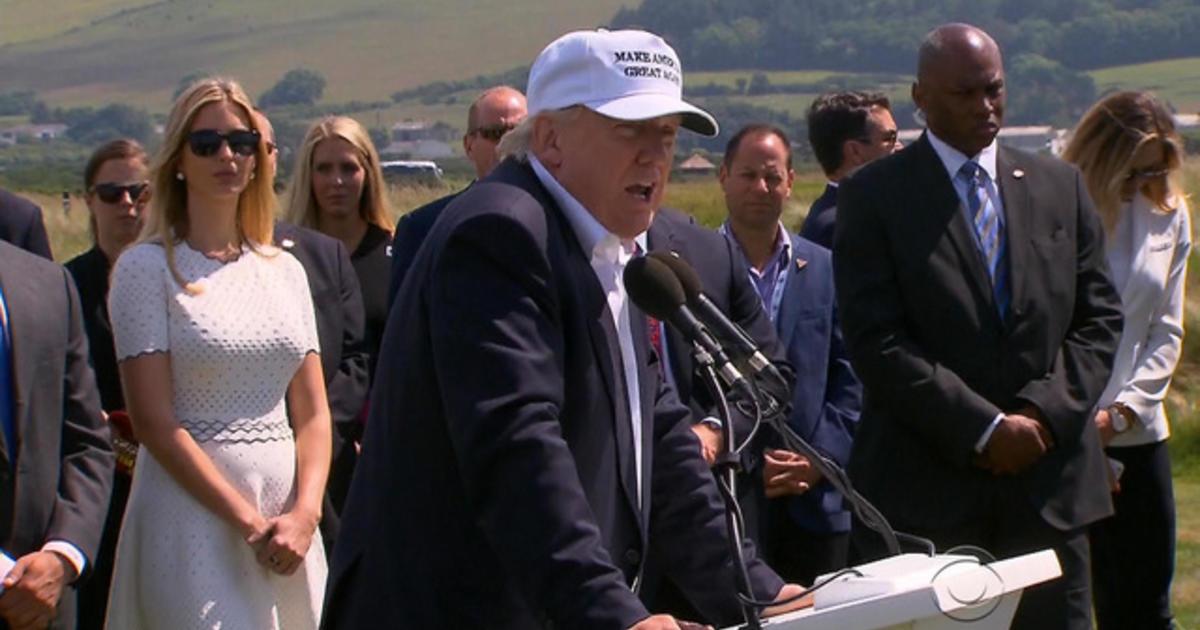 Donald Trump praises Brexit