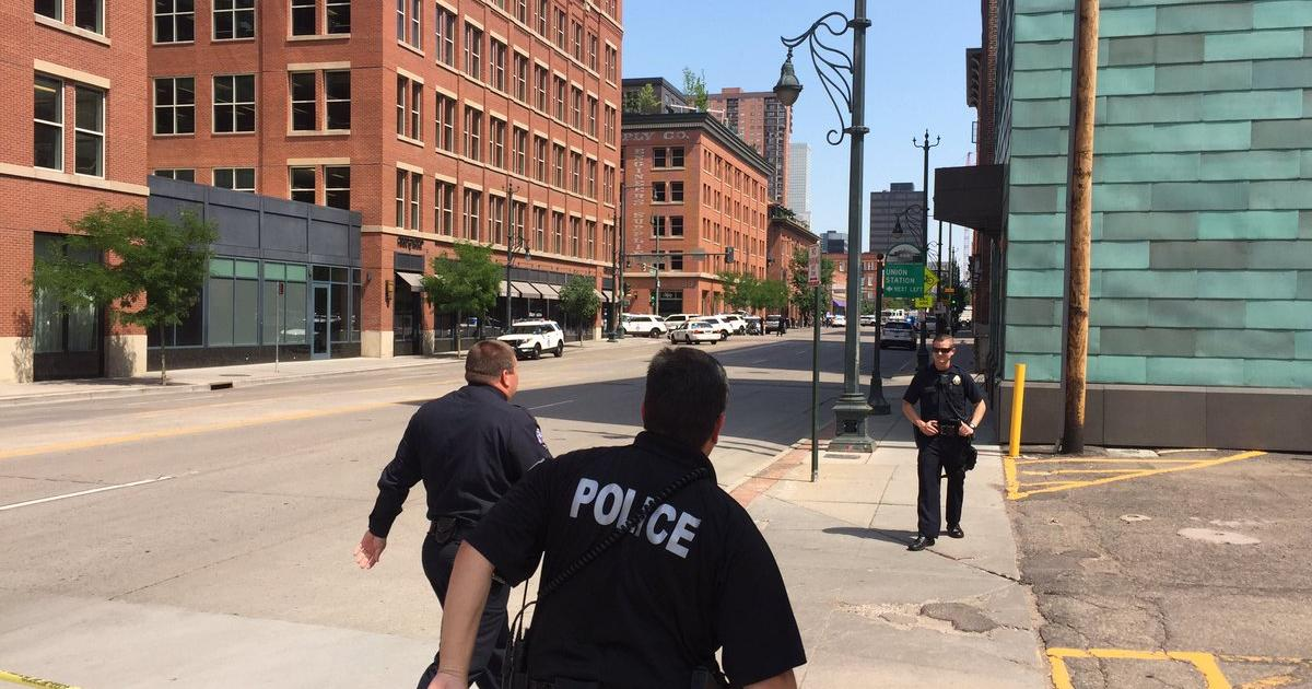 Cops: Gunman dead after shooting woman in downtown Denver