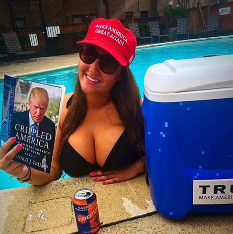 Extreme Donald Trump fans
