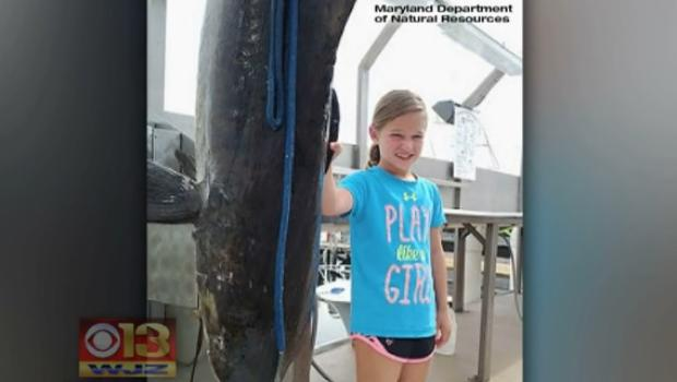 9-Year-old girl smashes fishing record with huge catch