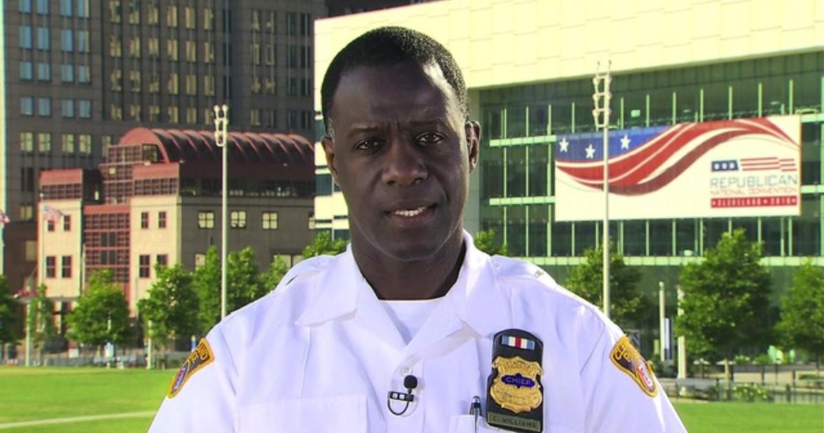 Cleveland police chief on security challenges at the GOP convention