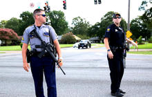 Manhunt continues after Baton Rouge police shooting