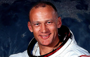 Astronaut Buzz Aldrin looks back at historic career in new book
