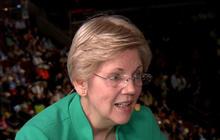 Elizabeth Warren punches back at Donald Trump's jabs