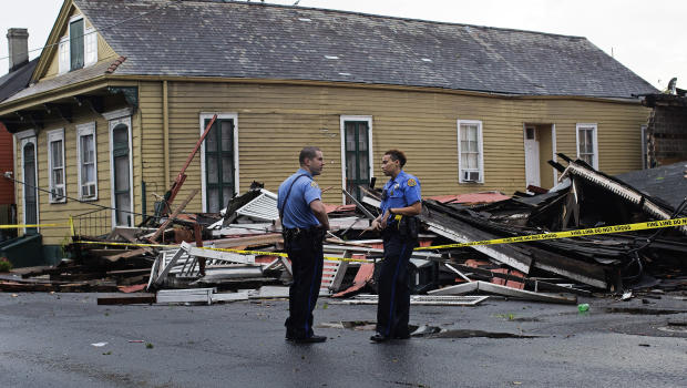 Cleanup underway after EF0 tornado tears through New Orleans