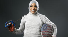 Where Olympic fencer Ibtihaj Muhammad got her start