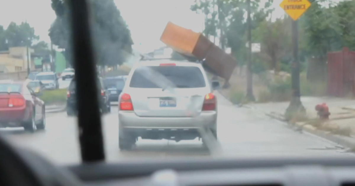 AAA warns of accident risk from debris flying off vehicles ...