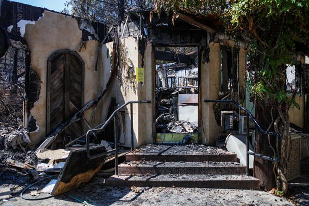 Devastating California wildfires