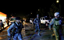 American University in Afghanistan under attack