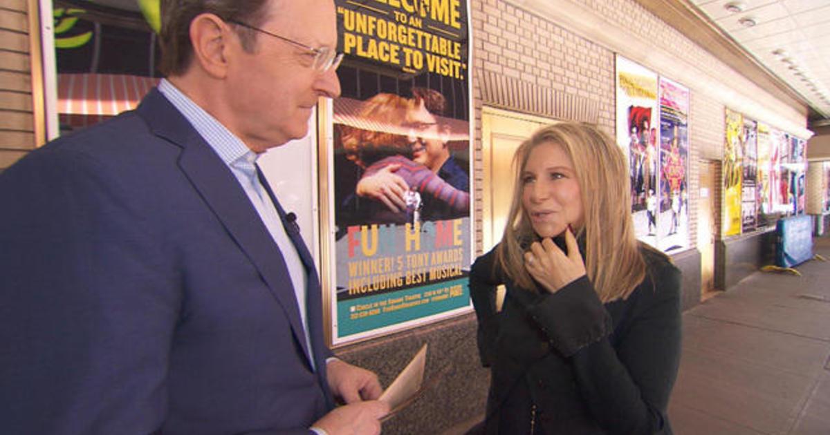 Sneak peek: Barbra Streisand on Sunday Morning