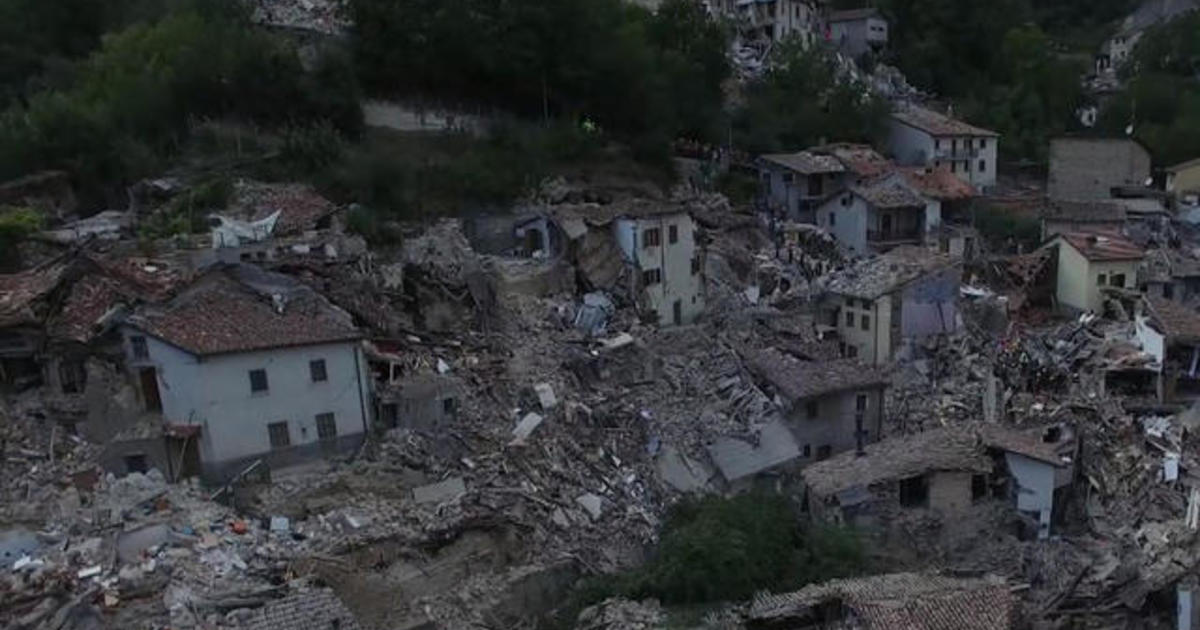 Hope of survivors in Italy earthquake fades, as death toll rises