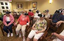 New technology takes seniors on a virtual ride