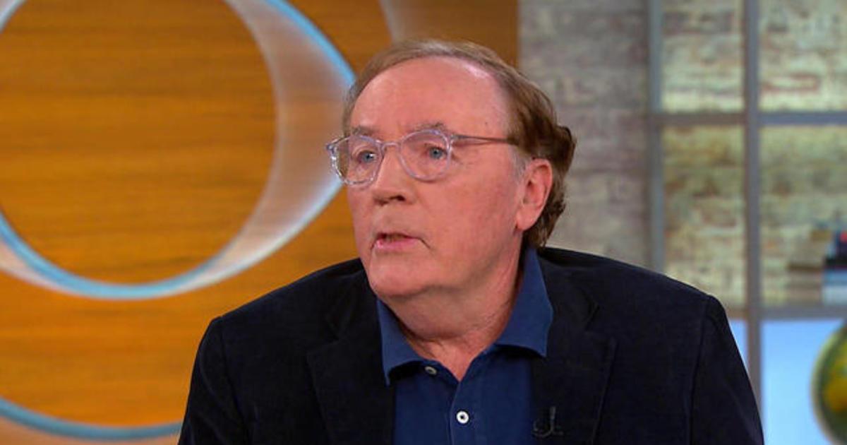 Author James Patterson...