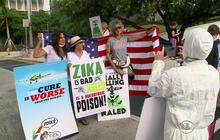 Tempers flare in Miami Beach over Zika spraying