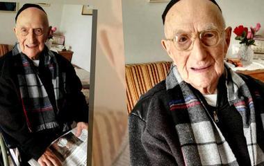 World's oldest man to have bar mitzvah