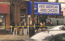 Bombing suspect shot at police after being found at N.J. bar