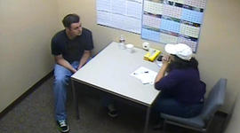 "Inside the interrogation room: ""I'm in love with her"""