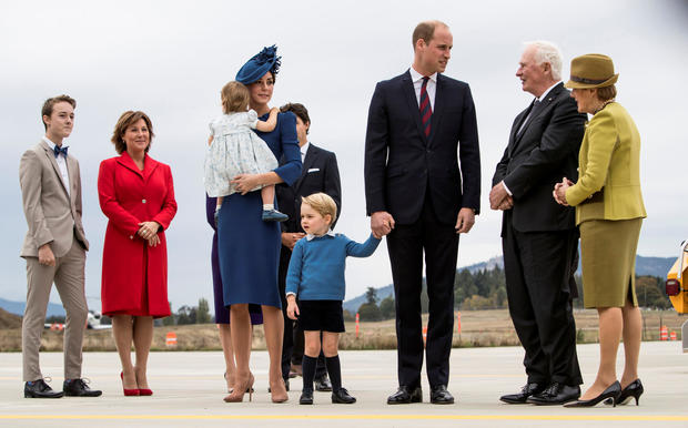Will and Kate in Canada