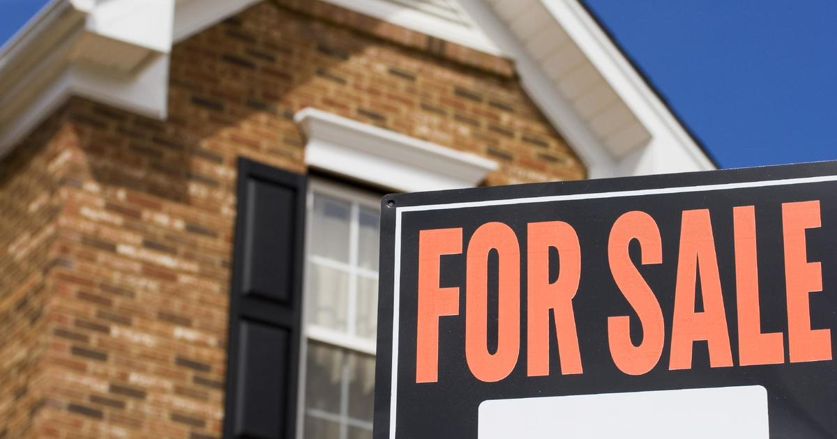 Sales of new homes tumbled 7.6 percent in August - CBS News