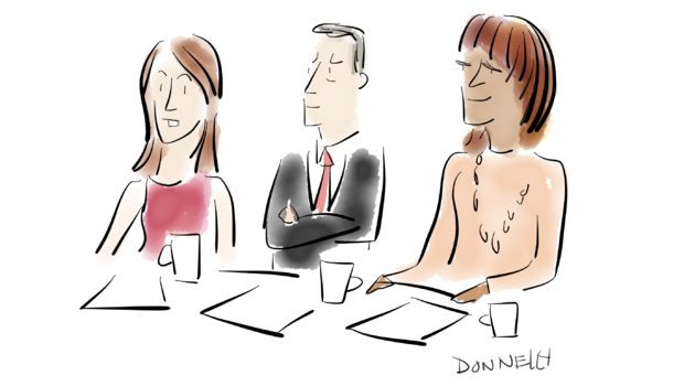 """Sketching out """"CBS This Morning"""""""
