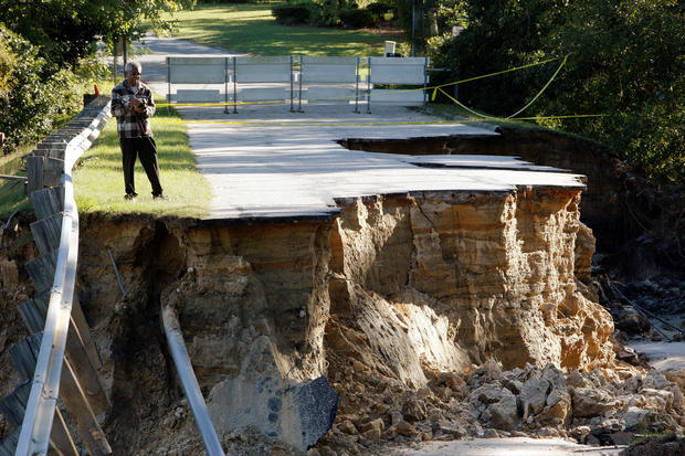 Carolina receives $5 million in FHWA relief funds for Hurricane Matthew damage