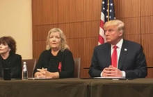 Trump holds event with Bill Clinton accusers