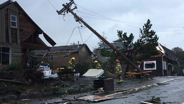 High Winds Expected A Day After Tornadoes In The Pacific Northwest