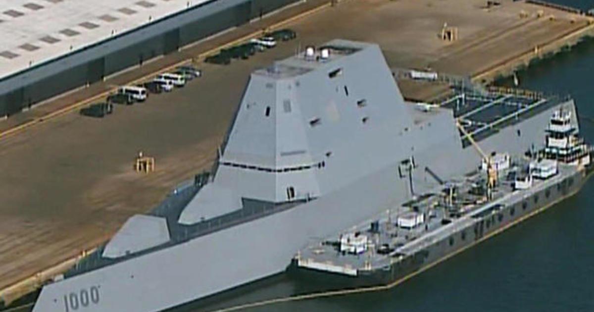 On board the USS Zumwalt, the Navy's pricey new battleship ...